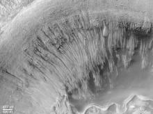 Evidence for Recent Liquid Water on Mars -  NASA