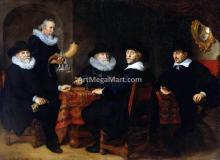 Four Governors of the Arquebusiers Civic Guard, Amsterdam