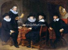 Four Governors of the Arquebusiers' Civic Guard