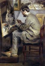 Frederic Bazille Painting 'The Heron' - Pierre Auguste Renoir