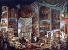 Gallery of Views of Ancient Rome - Giovanni Paolo Pannini