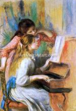 Girls at the Piano - Pierre Auguste Renoir