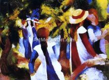 August Macke Paintings
