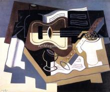 Guitar with Clarinet - Juan Gris