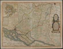 Hamburg, Germany, 1652 - Vintage Map Collection