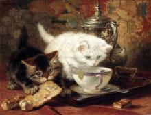 High Tea - Henriette Ronner-Knip