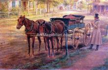 Horse and Buggy - Edward Lamson Henry