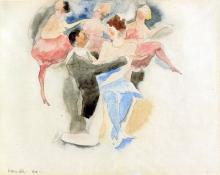 In Vaudeville: Man and Woman with Chorus