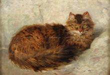 Katze - Henriette Ronner-Knip