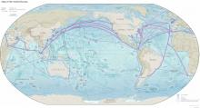 Map of the World Oceans - Map Collection