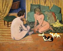Naked Women To Cats