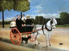 Old Junior's Cart - Henri Rousseau