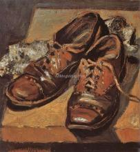 Old Shoes - Grant Wood