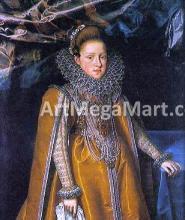 Portrait of Maria Magdalena of Austria