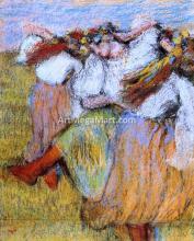 Russian Dancers - Edgar Degas