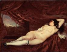 Sleeping Nude Woman