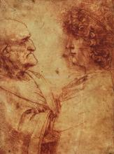 Study of the Heads of an Old Man and a Youth