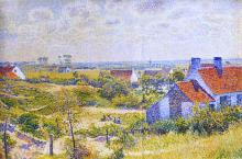 Summer Landscape of the Moor