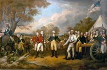 Surrender of General Burgoyne - John Trumbull