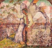 The Apple Picker - Georges Lacombe