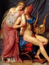 The Love of Helen and Paris - Jacques-Louis David