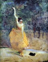 The Spanish Dancer - Henri De Toulouse-Lautrec