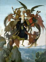 The Torment of Saint Anthony - Michelangelo Buonarroti