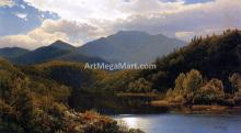 View in the White Mountains (also known as