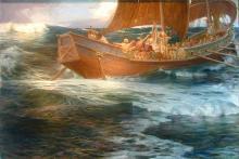 Wrath of the Sea God - Herbert James Draper