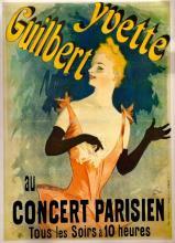 Yvette Guilbert - Jules Cheret
